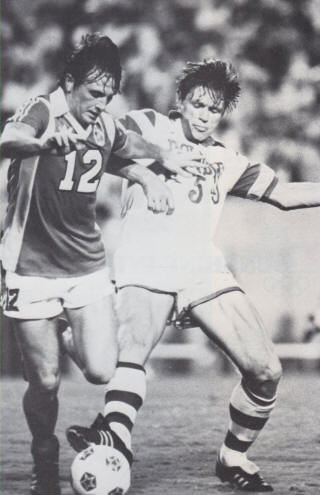 Rowdies 82 Home Peter Nogly, Roughecks