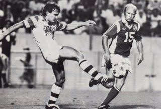 Rowdies 82 Home Peter Rowe, Roughnecks