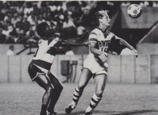 NASL Soccer Tampa Bay Rowdies 84 Home Don McAllister