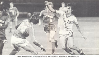 NASL Soccer San Diego Sockers 78 Home Jean Willrich 3