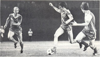 NASL Soccer San Diego Sockers 78 Road Peter  Lechermann