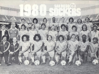 NASL Soccer San Diego Sockers 80 Home Team