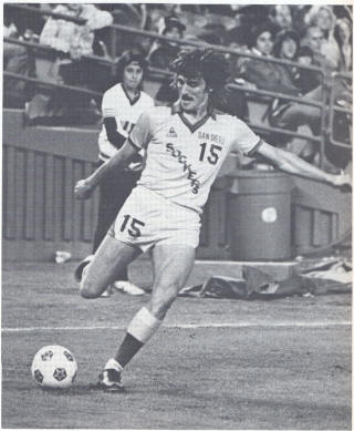 NASL Soccer San Diego Sockers 81 Home Jean Willrich
