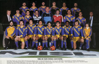 Sockers 82-83 Home Team 2