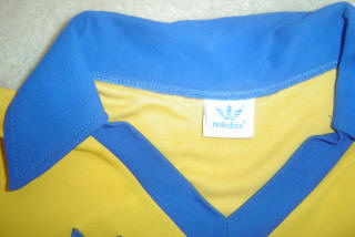 NASL Soccer San Diego Sockers 82-84 Home Jersey Paulo Moura Adidas Tag