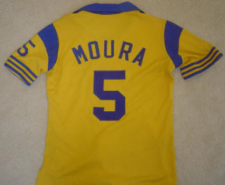 NASL Soccer San Diego Sockers 82-84 Home Jersey Paulo Moura Back