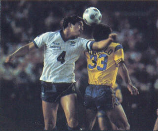 NASL Soccer San Diego Sockers 83 Home Back willy Morcillo