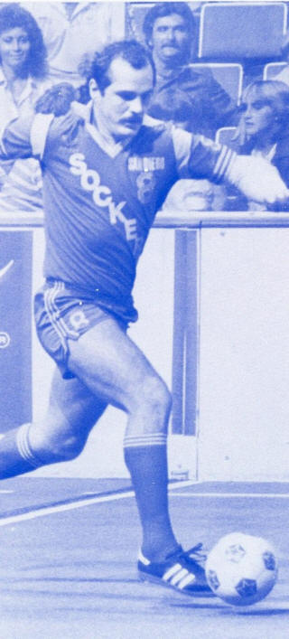 NASL Soccer San Diego Sockers 83-84 Indoor Road Eric Geyer