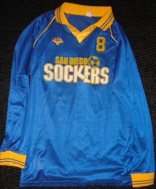Sockers 84-85 Home Jersey Eric Geyer