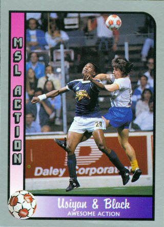 San Diego Sockers 89-90 Road Back Ralph Black, Storm
