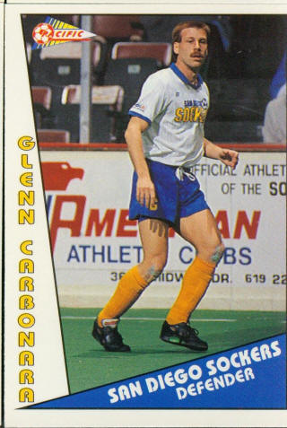 Sockers 90-91 Road Glen Carbonara
