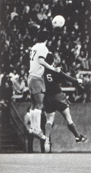 NASL Soccer Seattle Sounders 75 Home Back Dave Gillett