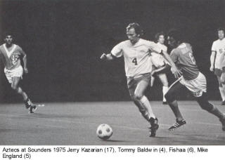 NASL Soccer Seattle Sounders 75 Home Tommy Baldwin