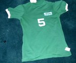 NASL Soccer Seattle Sounders 75 Road Jersey Mike England