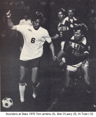 NASL Soccer Seattle Sounders 76 Home Tom Jenkins 2