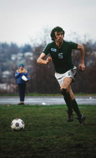 Seattle Sounders 1976 Mike England