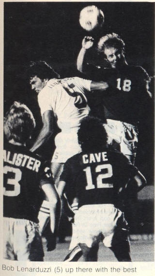 NASL Soccer Seattle Sounders 77 Road Back Mickey Cave