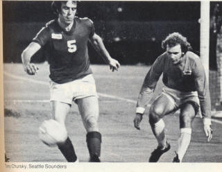 NASL Soccer Seattle Sounders 77 Road Mike England