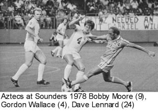 Sounders 78 Home Bobby Moore, Gordon Wallace