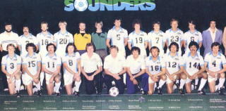 NASL Soccer Seattle Sounders 78 Home Team.JPG