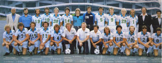 NASL Soccer Seattle Sounders 79 Home Team