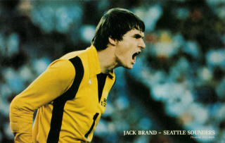 NASL Soccer Seattle Sounders 80 Goalie Jack Brand 3
