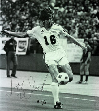 NASL Soccer Seattle Sounders 81 Home Jeff Stock'