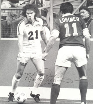 NASL Soccer Seattle Sounders 81-82 Indoor Mark Peterson