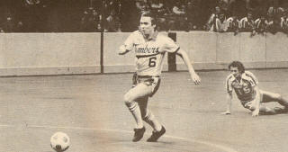 Sounders 81-82 Indoor Road Steve Buttle, Timbers