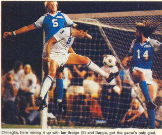 NASL Soccer Seattle Sounders 82 Road Ian Bridge, Benny Dargle