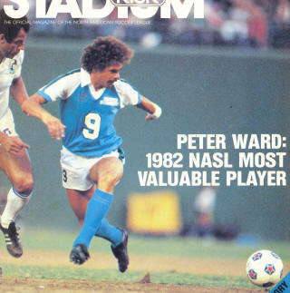 NASL Soccer Seattle Sounders 82 Road Peter Ward