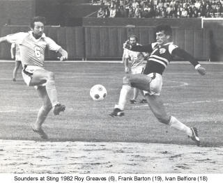 NASL Soccer Seattle Sounders 82 Road Roy Greaves
