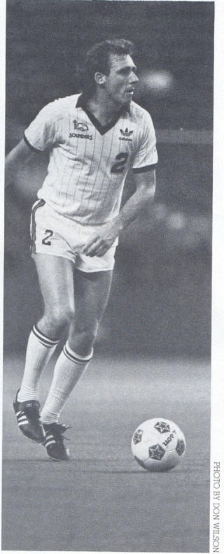 NASL Soccer Seattle Sounders 83 Home Ray Evans