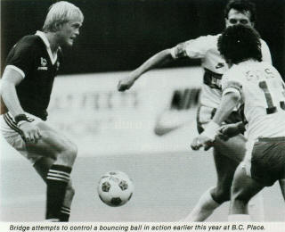 NASL Soccer Seattle Sounders 1983 Road Ian Bridge, Whitecaps Europac.jpg