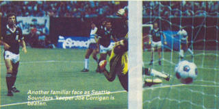 NASL Soccer Seattle Sounders 83 Road Tony Powell