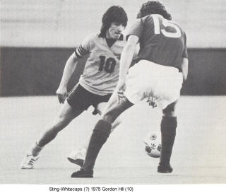 NASL Soccer Chicago Sting 75 Home Gordon Hill
