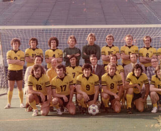 NASL Soccer Chicago Sting 75 Home Team