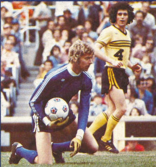 NASL Soccer Chicago Sting 76 Home Clive Griffiths