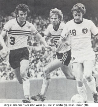 NASL Soccer Chicago Sting 76 Home John Webb