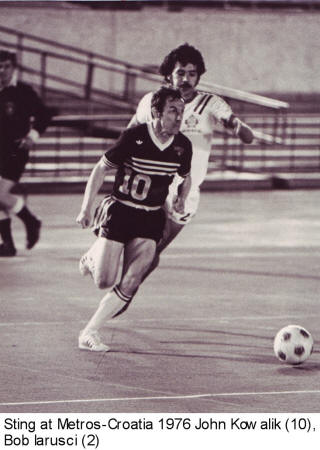 NASL Soccer Chicago Sting 76 Road John Kwalick