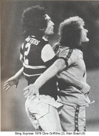 NASL Soccer Chicago Sting 78 Road Back Clive Griffiths