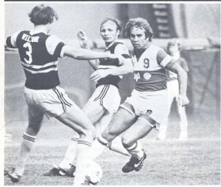NASL Soccer Chicago Sting 79 Road Bruce Wilson Back
