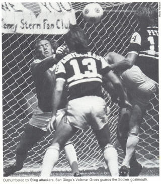 NASL Soccer Chicago Sting 80-82 Road Back Tasso Koutsoukas
