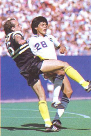 NASL Soccer Chicago Sting 81 Road Back Dave Huson (2)