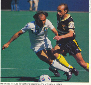 NASL Soccer Chicago Sting 81 Road Dave Huson