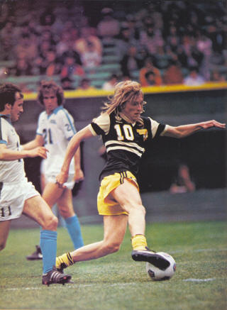 NASL Soccer Chicago Sting 81 Road Pato Margetic 2