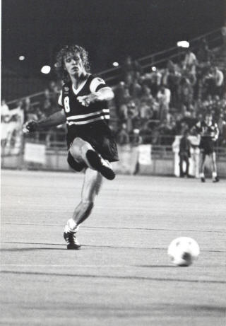 NASL Soccer Chicago Sting 81 Road Rudy Glenn