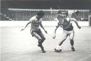 NASL Soccer Chicago Sting 81-82 Indoor Road Tasso Katsoukous