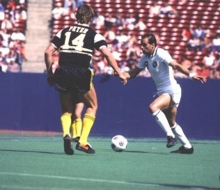 NASL Soccer Chicago Sting 81-83 Road Back Ingo Peter