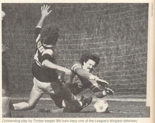NASL Soccer Chicago Sting 82 Road Back Rudy Glenn